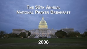 National Prayer Breakfast 2008