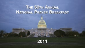 National Prayer Breakfast 2011