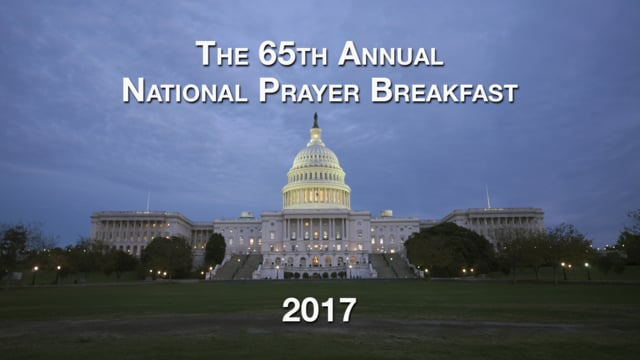 National Prayer Breakfast 2017