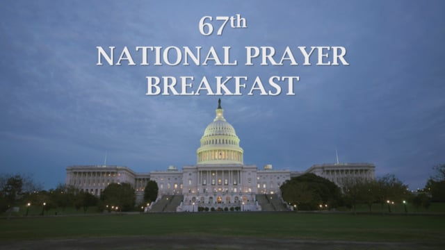 National Prayer Breakfast 2019